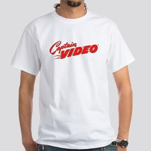$19.99 Captan Video's Logo White T