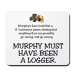 Murphy's Law Mousepad