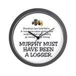 Murphy's Law Wall Clock