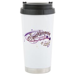 Sparkle Stainless Steel Travel Mug