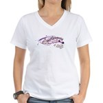 Sparkle Women's V-Neck T-Shirt