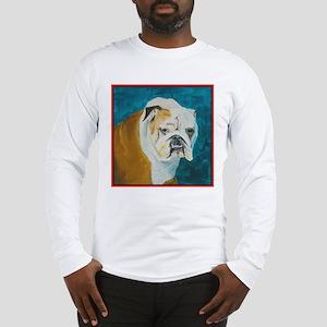 Long Sleeve T-Shirt with English Bulldog