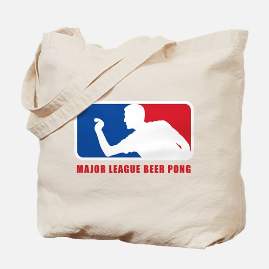 Major League Beer Pong Tote Bag
