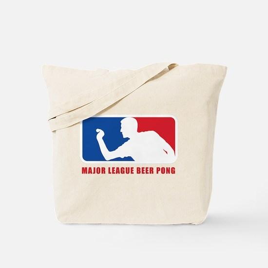 Major League Beer Pong Tote Bag