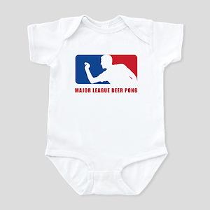 Major League Beer Pong Infant Bodysuit