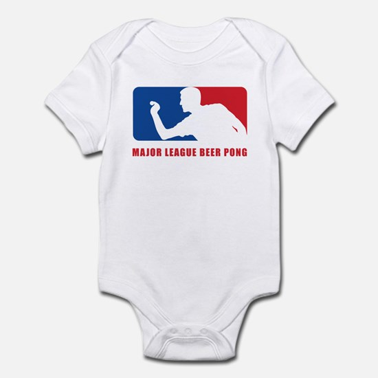 Major League Beer Pong Infant Bodysuit