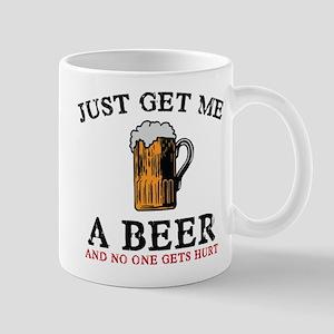 Just Get Me A Beer Mug