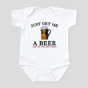 Just Get Me A Beer Infant Bodysuit