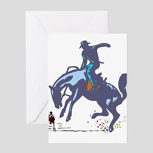 BRONC *chad* Greeting Card