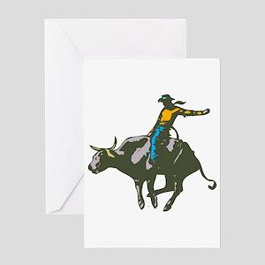 BULLRIDER *randy* Greeting Card