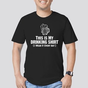 This Is My Drinking Shirt Men's Fitted T-Shirt (da
