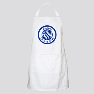 Greece Hellas Ice Hockey Apron