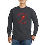 Vermont Ski Tours - Dark Long Sleeve T-Shirt