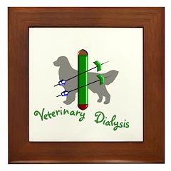 Veterinary Dialysis Framed Tile
