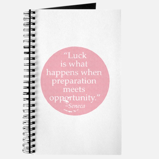 Luck is what happens when pre Journal