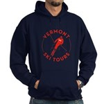 Vermont Ski Tours - Logo Hoodie (dark) Sweatshirt