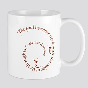 The soul becomes dyed with Mug