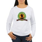 Ladies - Hug A Logger Women's Long Sleeve T-Shirt
