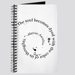 The soul becomes dyed with Journal