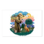 St Francis #2/ R Rback #2 Postcards (Package of 8)