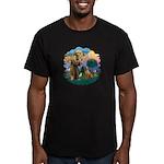 St Francis #2/ R Rback #2 Men's Fitted T-Shirt (da