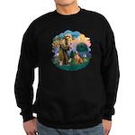 St Francis #2/ R Rback #2 Sweatshirt (dark)