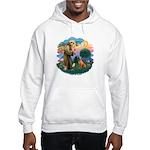 St Francis #2/ R Rback #2 Hooded Sweatshirt