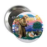 St Francis #2/Pomeranians(3) 2.25