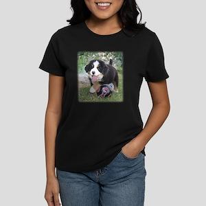 Bernese Puppy Women's Dark T-Shirt