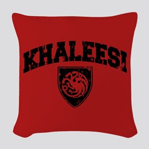GOT Khaleesi Athletic Style Woven Throw Pillow
