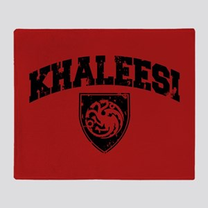 GOT Khaleesi Athletic Style Throw Blanket