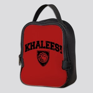 GOT Khaleesi Athletic Style Neoprene Lunch Bag