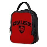 Khaleesi Neoprene Lunch Bag