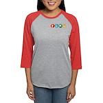 P94m Womens Baseball Jersey Long Sleeve T-Shirt