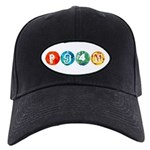 P94m Baseball Hat Black Cap With Patch
