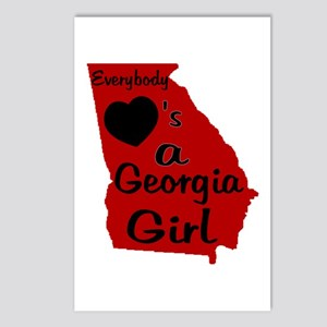 Everybody Loves a GA Girl (RB Postcards (Package o