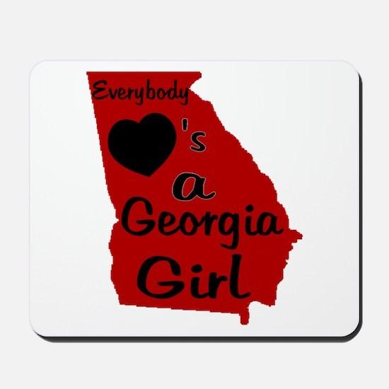 Everybody Loves a GA Girl (RB Mousepad