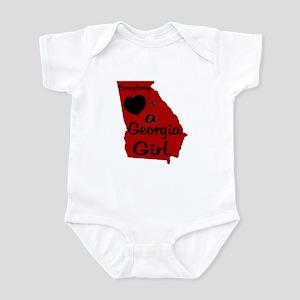 Everybody Loves a GA Girl (RB Infant Bodysuit