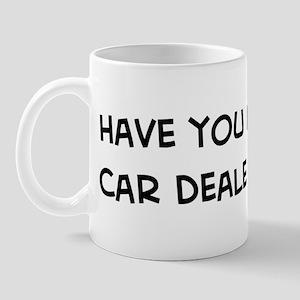 Hugged a Car Dealer Mug