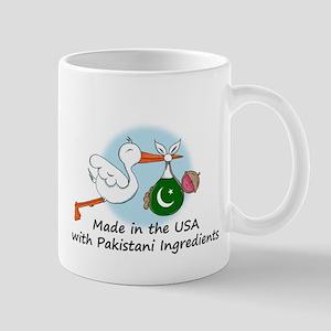 Stork Baby Pakistan USA Mug