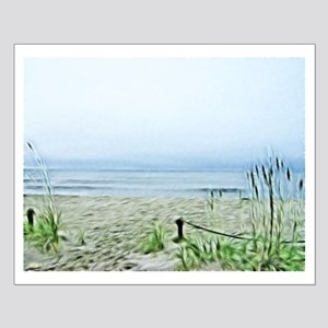 Painted Peaceful Seascape Posters
