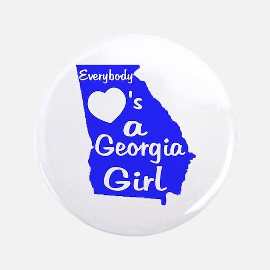 """Everybody Loves a GA Girl (BL 3.5"""" Button"""