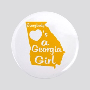 "Everybody Loves a GA Girl (GW 3.5"" Button"