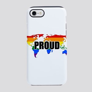 Gay Pride Worldwide iPhone 7 Tough Case