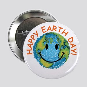 "Happy Earth Day 2.25"" Button"