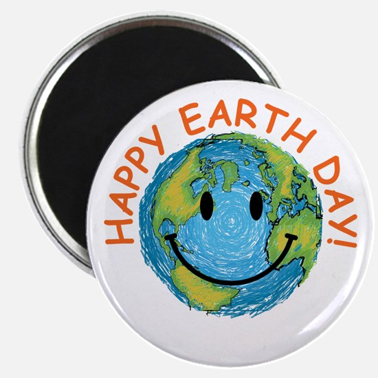 "Happy Earth Day 2.25"" Magnet (100 pack)"