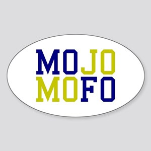 MOJO MOFO Sticker (Oval)