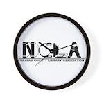 NCLA Logo 2019 Wall Clock