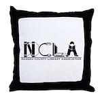 NCLA Logo 2019 Throw Pillow