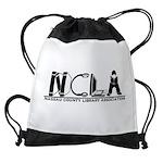 NCLA Logo 2019 Drawstring Bag
